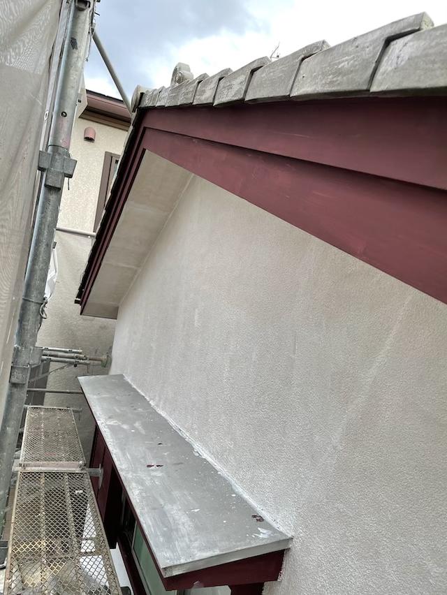 モルタル外壁シーラー作業