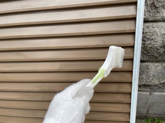 雨戸プライマー塗装