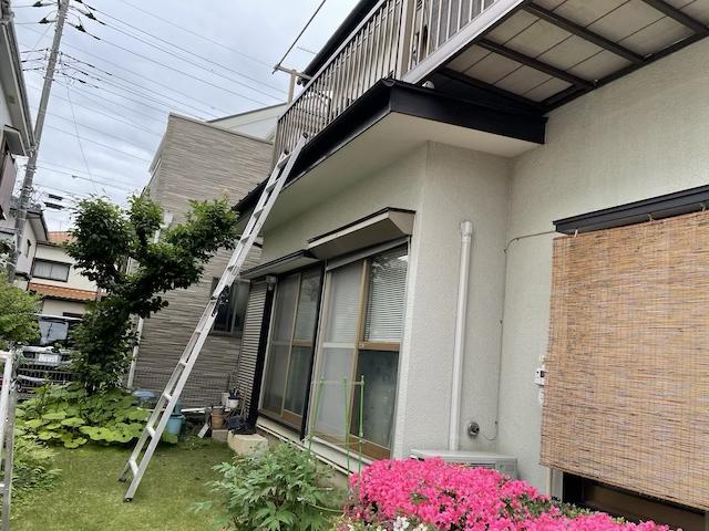 草加市 屋根塗り替え
