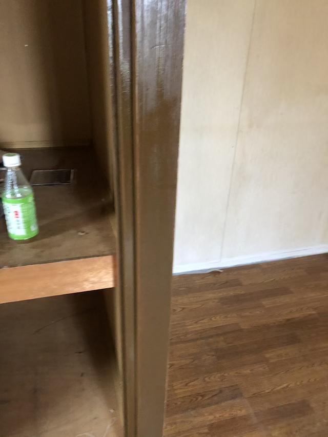 ドア枠オスモ塗装