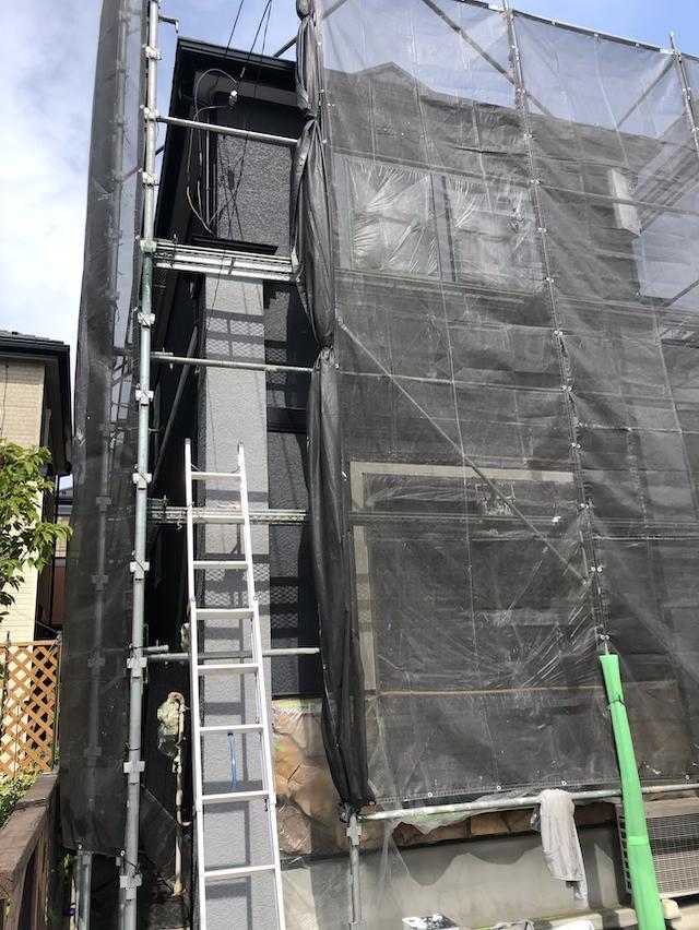 川口市安行出羽H様邸 コロニアル大屋根塗り替え工事完了!