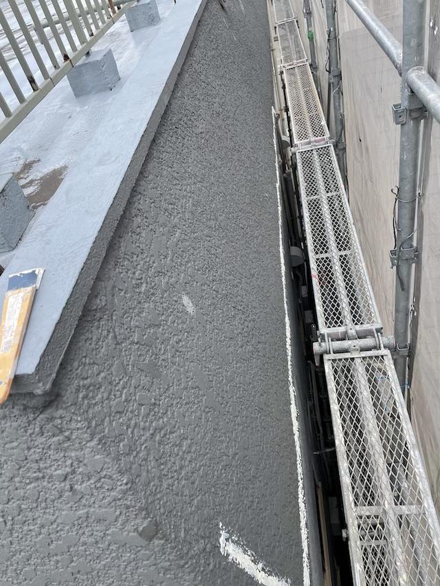 モルタル外壁 クラック修繕
