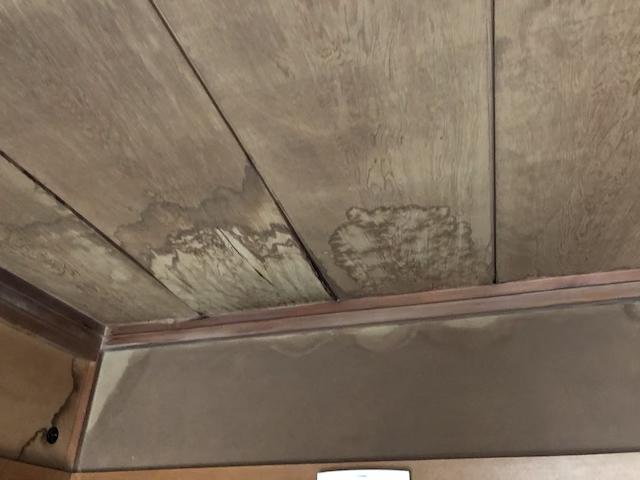 和室天井雨漏り