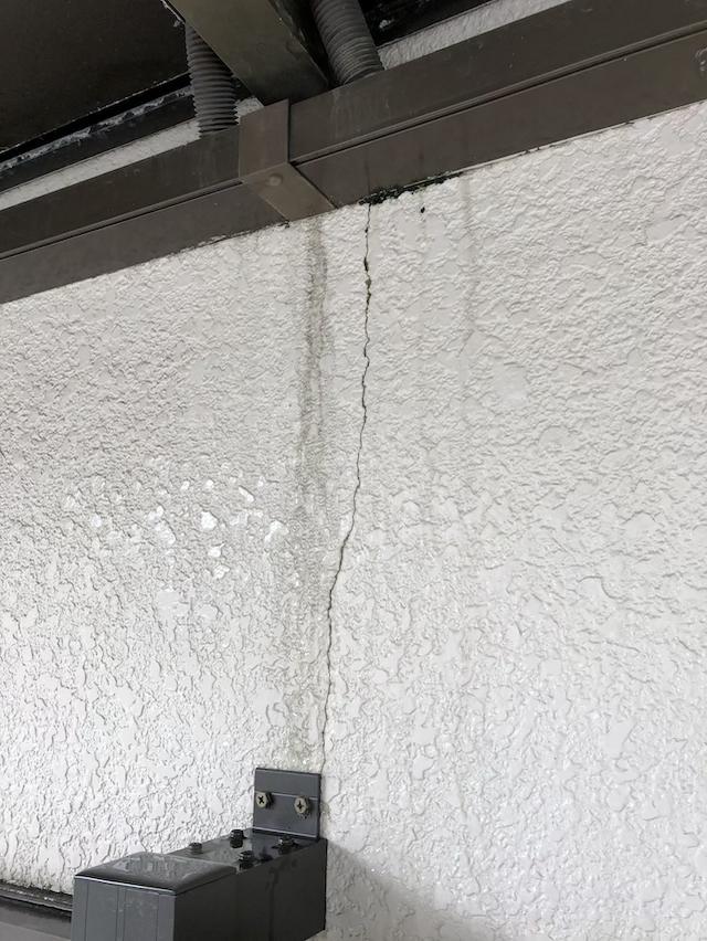 モルタル外壁 クラック