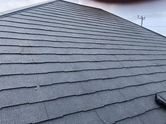コロニアル屋根 高圧洗浄後