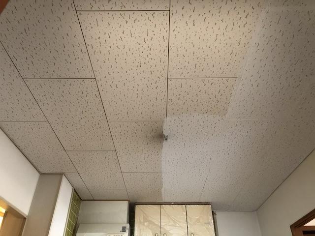ジプトーン天井塗装