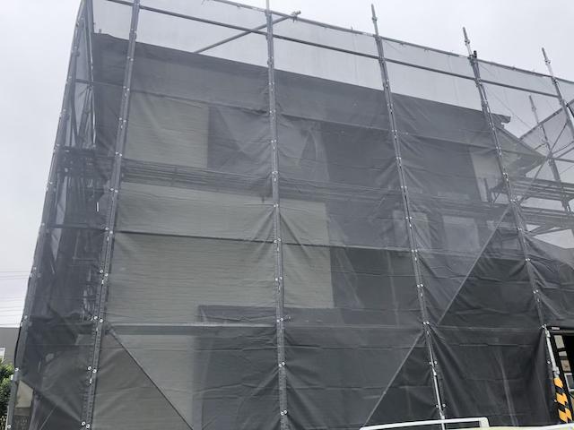 草加市長栄町 外壁塗り替え
