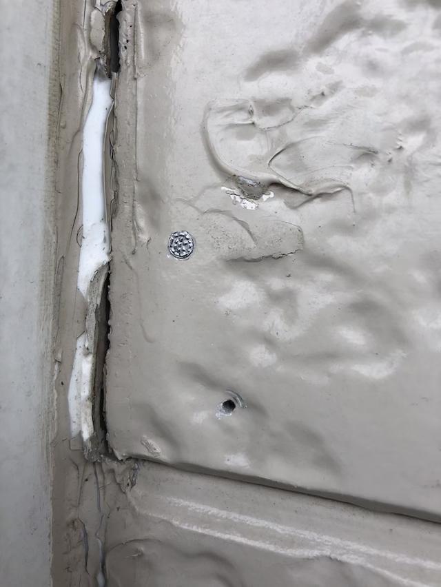 サイディング外壁劣化